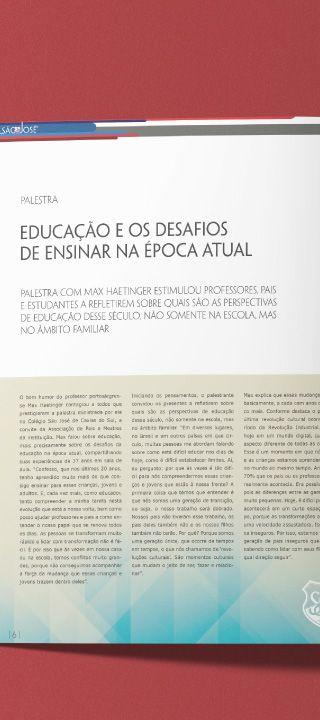Materiais Gráficos // Posicionamento de Marca // Colégio São José